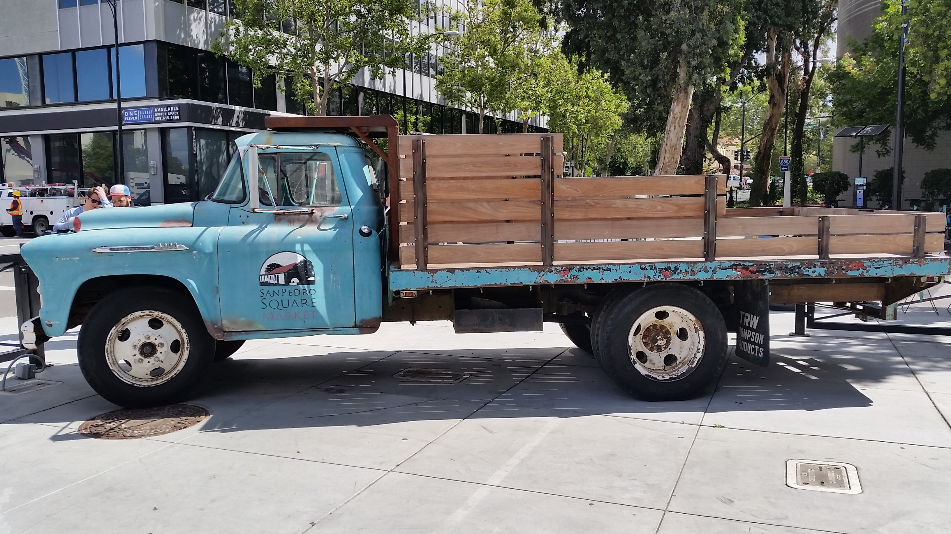 Old Truck in San Jose