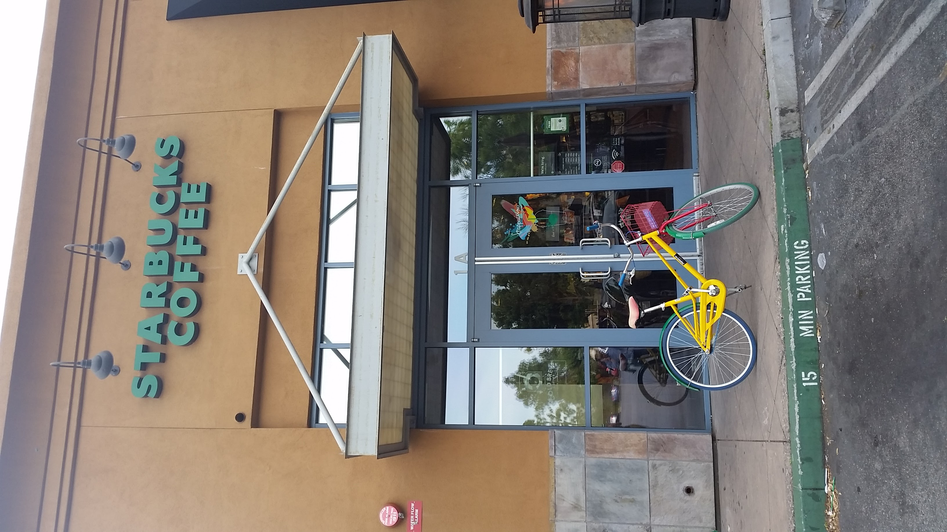 Starbucks & Bicycle Google
